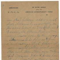 Image of 103_2015.162.4_reid Fields To Clara Wrasse_october 30, 1918_page 05