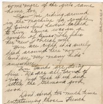 Image of 104_2015.162.4_ruth  To Reid Fields_october 31, 1918_page 03