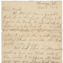 Image of 105_2015.162.4_clara Wrasse To Reid Fields_november 1, 1918_page 01