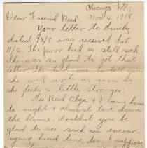 Image of 106_2015.162.4_clara Wrasse To Reid Fields_november 4, 1918_page 01