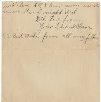 Image of 106_2015.162.4_clara Wrasse To Reid Fields_november 4, 1918_page 05