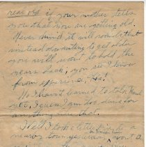 Image of 107_2015.162.4_reid Fields To Clara Wrasse_november 5, 1918_page 02