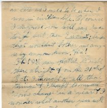 Image of 107_2015.162.4_reid Fields To Clara Wrasse_november 5, 1918_page 03