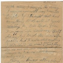 Image of 107_2015.162.4_reid Fields To Clara Wrasse_november 5, 1918_page 04