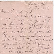 Image of 109_2015.162.4_clara Wrasse To Reid Fields_november 10, 1918_page 01