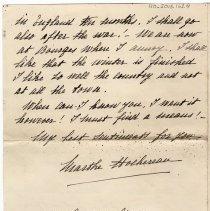Image of 110_2015.162.4_marthe Hoeheseau To Reid Fields_november 10, 1918_page 04