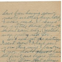 Image of 111_2015.162.4_reid Fields To Parents_november 11, 1918_page 02