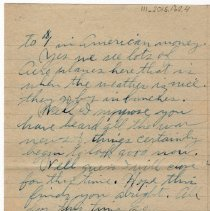 Image of 111_2015.162.4_reid Fields To Parents_november 11, 1918_page 04
