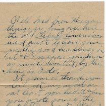 Image of 112_2015.162.4_reid Fields To Clara Wrasse_november 11, 1918_page 02