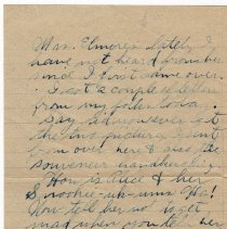 Image of 112_2015.162.4_reid Fields To Clara Wrasse_november 11, 1918_page 03