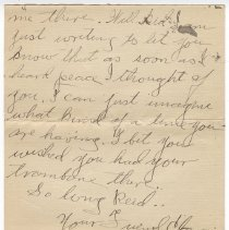 Image of 113_2015.162.4_clara Wrasse To Reid Fields_november 11, 1918_page 04