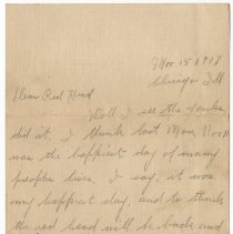 Image of 116_2015.162.4_hattie To Reid Fields_november 15, 1918_page 01