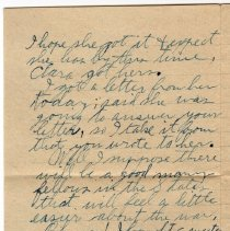 Image of 117_2015.162.4_reid Fields To Parents_november 17, 1918_page 03