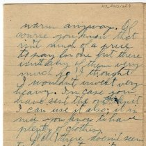 Image of 117_2015.162.4_reid Fields To Parents_november 17, 1918_page 04