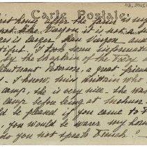 Image of 118_2015.162.4_marthe Hochereau To Reid Fields_november 18, 1918_page 05