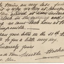 Image of 118_2015.162.4_marthe Hochereau To Reid Fields_november 18, 1918_page 07