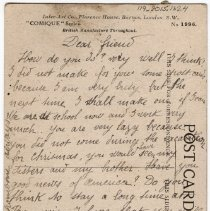 Image of 119_2015.162.4_elisabeth Hochereau To Reid Fields_november 18, 1918_page 02