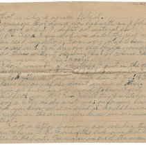 Image of 121_2015.162.4_reid Fields To Clara Wrasse_november 18, 1918_page 02