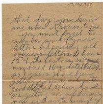 Image of 123_2015.162.4_reid Fields To Clara Wrasse_november 25, 1918_page 04