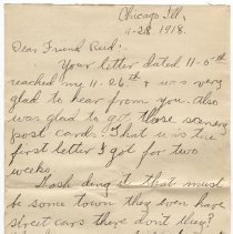 Image of 124_2015.162.4_clara Wrasse To Reid Fields_november 28, 1918_page 01