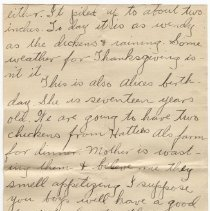 Image of 124_2015.162.4_clara Wrasse To Reid Fields_november 28, 1918_page 02
