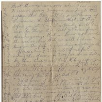 Image of 125_2015.162.4_reid Fields To Clara Wrasse_november 28, 1918_page 02