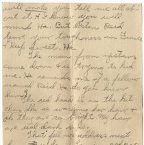 Image of 126_2015.162.4_clara Wrasse To Reid Fields_november 29, 1918_page 04