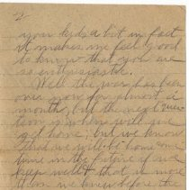 Image of 130_2015.162.4_reid Fields To Clara Wrasse_december 3, 1918_page 02