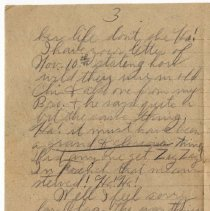 Image of 130_2015.162.4_reid Fields To Clara Wrasse_december 3, 1918_page 03