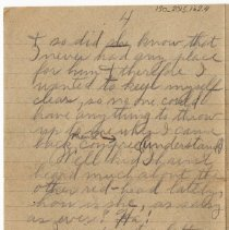 Image of 130_2015.162.4_reid Fields To Clara Wrasse_december 3, 1918_page 04
