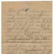 Image of 130_2015.162.4_reid Fields To Clara Wrasse_december 3, 1918_page 05