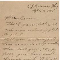 Image of 131_2015.162.4_naomi To Clara Wrasse_december 4, 1918_page 01