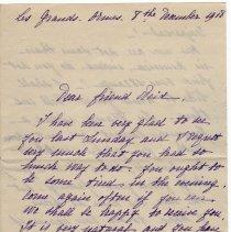 Image of 133_2015.162.4_marthe Hochereau To Reid Fields_december 8, 1918_page 01