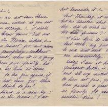 Image of 133_2015.162.4_marthe Hochereau To Reid Fields_december 8, 1918_page 02-03