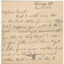 Image of 134_2015.162.4_clara Wrasse To Reid Fields_december 9, 1918_page 01
