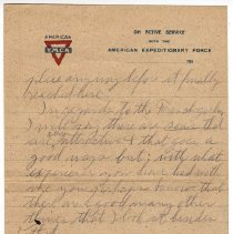 Image of 135_2015.162.4_reid Fields To Clara Wrasse_december 10, 1918_page 03