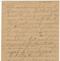 Image of 135_2015.162.4_reid Fields To Clara Wrasse_december 10, 1918_page 04