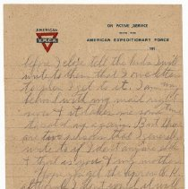 Image of 135_2015.162.4_reid Fields To Clara Wrasse_december 10, 1918_page 05