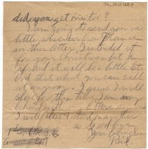 Image of 136_2015.162.4_reid Fields To Parents_december 11, 1918_page 04