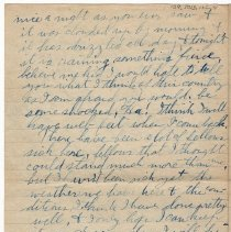 Image of 139_2015.162.4_reid Fields To Clara Wrasse_december 17, 1918_page 04