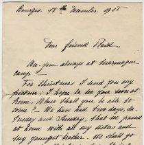Image of 140_2015.162.4_marthe Hochereau To Reid Fields_december 18, 1918_page 01