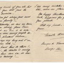 Image of 140_2015.162.4_marthe Hochereau To Reid Fields_december 18, 1918_page 02-03