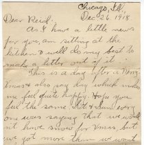 Image of 142_2015.162.4_clara Wrasse To Reid Fields_december 26, 1918_page 01