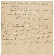 Image of 145_2015.162.4_clara Wrasse To Reid Fields_january 1, 1919_page 06