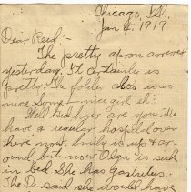Image of 147_2015.162.4_clara Wrasse To Reid Fields_january 4, 1919_page 01