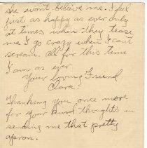 Image of 147_2015.162.4_clara Wrasse To Reid Fields_january 4, 1919_page 06