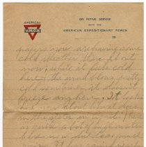 Image of 148_2015.162.4_reid Fields To Clara Wrasse_january 6, 1919_page 03