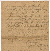 Image of 148_2015.162.4_reid Fields To Clara Wrasse_january 6, 1919_page 04
