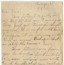 Image of 149_2015.162.4_clara Wrasse To Reid Fields_january 6, 1919_page 01
