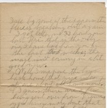 Image of 150_2015.162.4_reid Fields To Parents_january 7, 1919_page 02